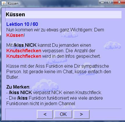 Knuddels flirten