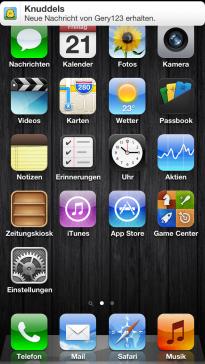 Knuddels app startet nicht
