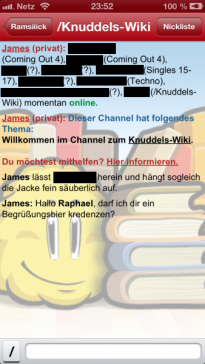 App startet nicht knuddels Knuddels Chat